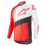 Alpinestars Racer Jersey Supermatic Red-Black-White 2019 # SALE