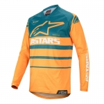 Alpinestars Racer Jersey Supermatic Orange-Petrol 2020