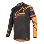Alpinestars Racer Tech Jersey Compass Black-Orange 2020