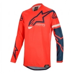 Alpinestars Racer Tech Jersey Compass Bright Red-Navy 2020