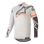 Alpinestars Racer Tech Jersey Compass Light Gray-Black 2020