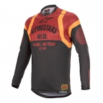 Alpinestars Racer Tech Jersey Flagship Black-Bordeaux-Orange 2020