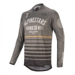 Alpinestars Racer Tech Jersey Flagship Dark Gray-Black-Orange 2020