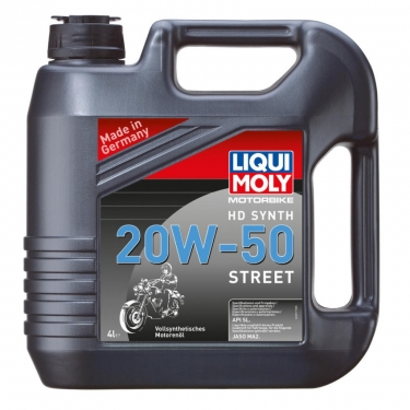 liqui moly motorbike hd synth 20w 50 street 4 liter 4. Black Bedroom Furniture Sets. Home Design Ideas