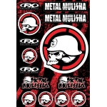 Factory Effex Sticker Sheet Metal Mulisha MM2