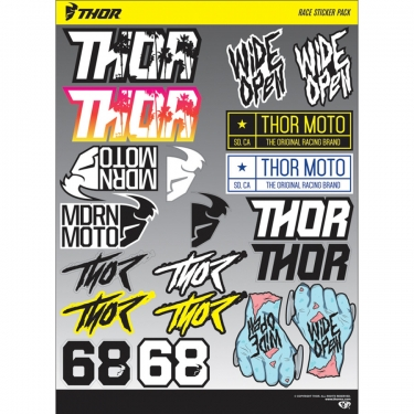 Thor Decal Sheet Race