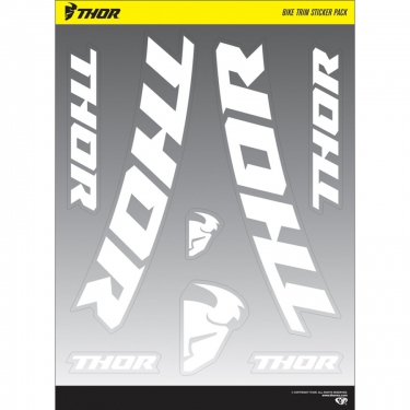 Thor Decal Sheets Bike Trim