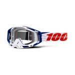 l00% Racecraft Goggle Bibal White 2019