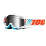 100% Racecraft Goggle Calculus Ice Mirror 2017 # SALE