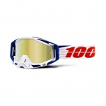 100% Racecraft Goggle Bibal White Mirror 2019