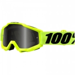 100% Accuri Goggle Fluo Yellow Sand 2018
