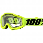 100% Accuri Goggle Fluo Yellow Enduro 2018