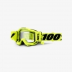 100% Accuri Goggle Fluo Yellow - Forecast System