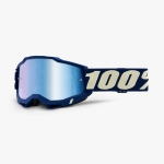 100% Youth Accuri 2 Goggle Deepmarine blue mirror Junior 2021