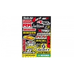 Blackbird Racing Sponsor Logo Kit A Sticker Sheet