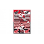 Blackbird Racing Honda Sticker Sheet