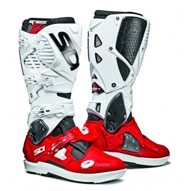 Sidi Crossfire 3 SRS Boots Black-Red-White