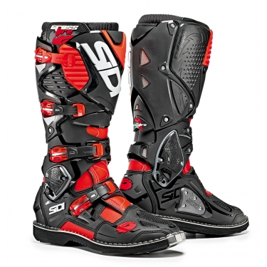 Sidi Crossfire 3 Boots Fluo Red-Black