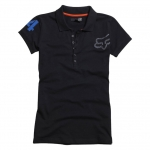 Fox Racing Women's Revived Polo black Ladies XL # SALE