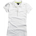 Fox Racing Women's Revived Polo white Ladies L # SALE