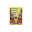 Blackbird Racing Suzuki Sticker Sheet
