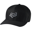 Fox Racing Legacy Flexfit Hat Black Pinstripe Fall 2015