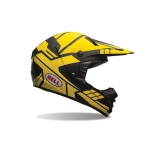 Bell SX-1 Helmet Stack Charcoal-Yellow