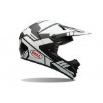 Bell SX-1 Helm Stack Matte White