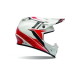 Bell MX-9 Helm Tagger Barricade Red