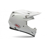 Bell Moto-9 Carbon Flex Helm Solid White