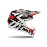 Bell Moto-9 Carbon Flex Helm Syndrome Red