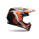 Bell Moto-9 Carbon Flex Helm Factory Orange-Black