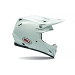 Bell Moto-9 Helm Solid White
