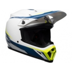 Bell MX-9 MIPS Helm Torch White-Blue-Yellow 2019