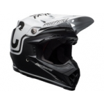 Bell Moto-9 MIPS Helm Fasthouse Matte Black-White 2018