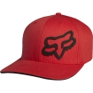 Fox Racing Signature Flexfit Hat Red Kids Fall 2015