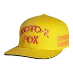 Fox Racing Hall of Fame Flexfit Hat Sunset gold S/M # SALE