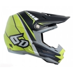 6D Helm ATR-1 Edge neon citrus-matte grey 2017