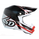 6D Helm ATR-1 Carbon Electric red-white 2017