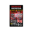 100% Team Geico Honda Sticker Kit