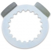Brand Safety Plate fits Sprocket Yamaha YZ 125 05-17, YZF/WRF 250 01-18 (520)