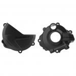 Polisport Performance Clutch Cover + Ignition Cover Protectors Honda CRF 250R 18-, RX 19-