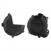 Polisport Performance Clutch Cover + Ignition Cover Protectors Beta RR 2T 18-, X-Trainer 18-