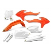 Cycra Powerflow Plastic Kit KTM SX/SX-F from 16', EXC from 17'