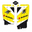 Blackbird Racing Rad Louver Decals Suzuki