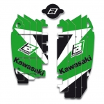 Blackbird Racing Rad Louver Decals Kawasaki