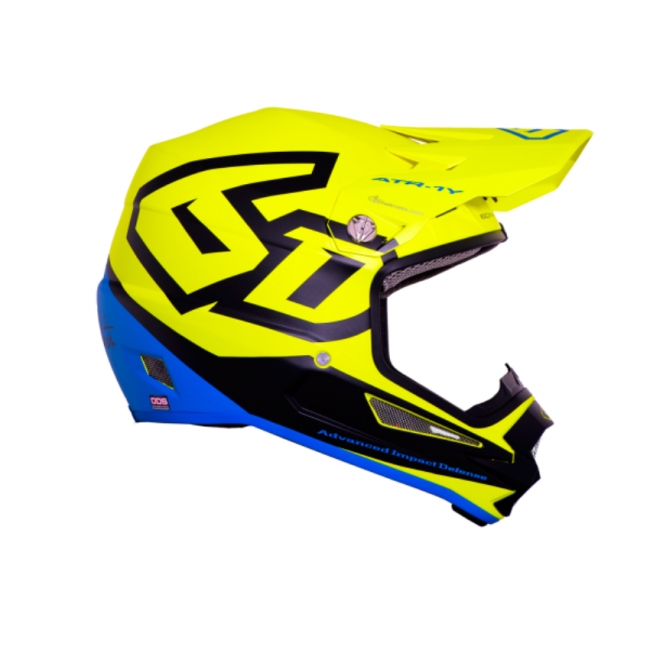 6D Helm ATR-1Y Youth Macro neon yellow Kids 2017
