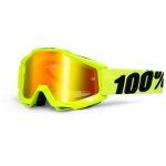 100% Accuri Junior Brille Fluo Yellow Mirror Kids 2016