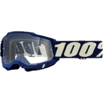 100% Youth Accuri 2 Goggle Deepmarine clear Junior 2021
