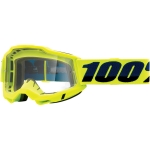 100% Youth Accuri 2 Goggle Fluo Yellow clear Junior 2021